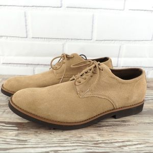 BUKS by Walkovers sz 10.5 suede derby shoes EUC